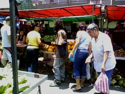 Farmer's Market in Guadalpe, Costa Rica