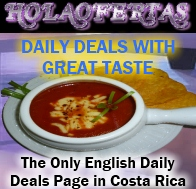 Deal of the Day in Costa Rica