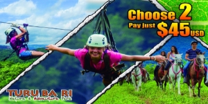Enjoy the Turu Ba Ri Nature & Adventure Park Summer Vacation Promotion
