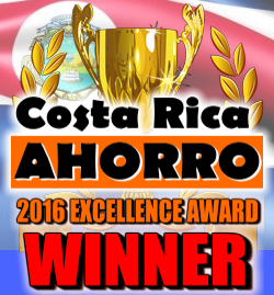 2016 Costa Rica Ahorro Business Excellence Awards